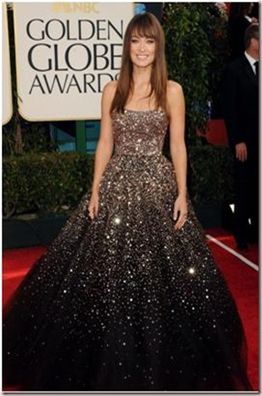 Olivia Wilde at the Golden Globes-2