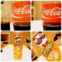 Cocacola-Pringles