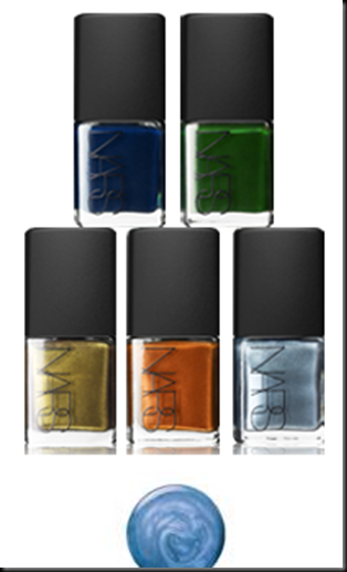 nars vintage nail polish codllection