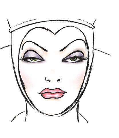evil queen makeup. Evil Queen