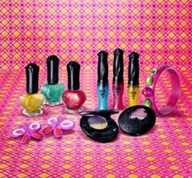 Anna Sui Makeup Collection for Spring 2011
