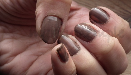 eld smokey brown nailpolish