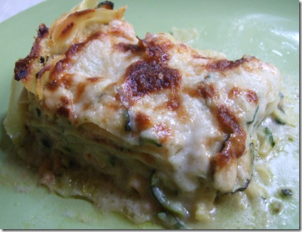 creamy zucchini and smoked salmon lasagne original picture by Kitchn Dahling