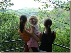 Mynach Falls with my girls