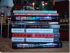 Will Grayson contest signed books