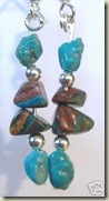 Calsilica Turquoise Earrings
