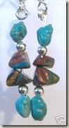 Calsilica Turquoise Earrings