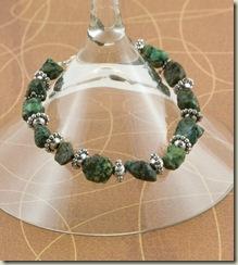 chunky green bracelet