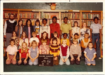 Mr. Lee's 5th & 6th grade class, Sunnyside Elementary, Wichita, Kansas, 1976/77.