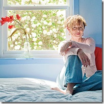 Anne Lamott, photographed for Sunset by James Hall