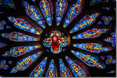 Rose Window of The Cathedral Of St. John The Divine