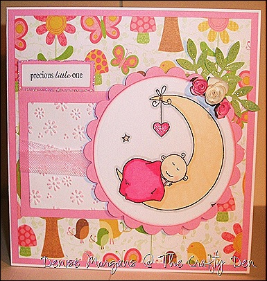 CCC challenge 72 - baby card