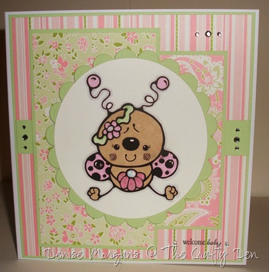 stamptacular #64 - cute as a bug