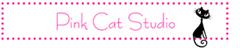 Pink cat studio logo