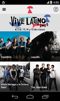 Screenshot of Vive Latino 2015