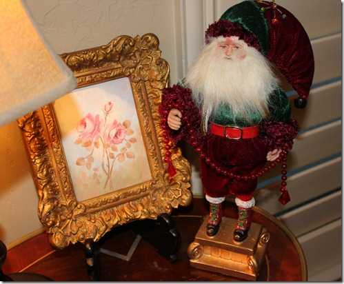 old timey santa