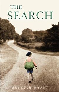 The Search - book cover UK