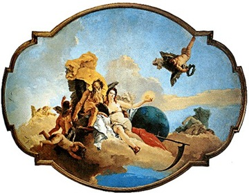 Museo Civico_G.B. Tiepolo-Il tempo scopre la verità e fuga la menzogna