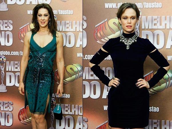 Cláudia Raia e Mariana Ximenes
