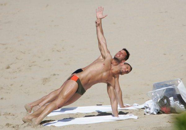 Ricky Martin e Martin Gonzalez
