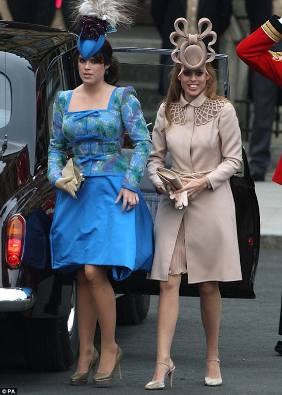 Princesa Eugenie e Princesa Beatrice