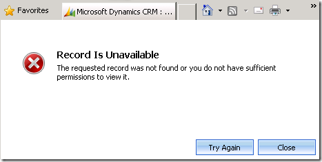 CMIS Import Organization Error