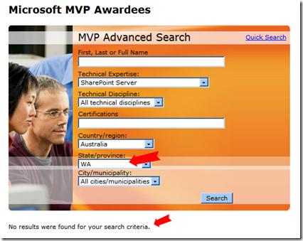 Western Australia SharePoint MVPs