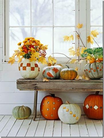 bhg patchwork pumpkins