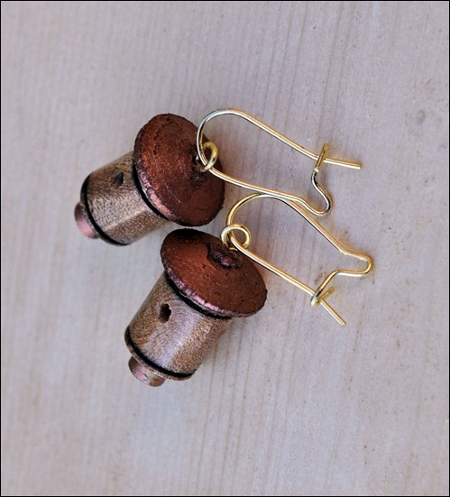 Epe & Copper Ear Rings