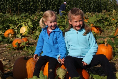 At the Pumpkin Patch in Snohomish.