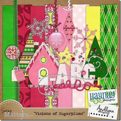 ald_haynay_coordinating kit Visions of Sugarplums