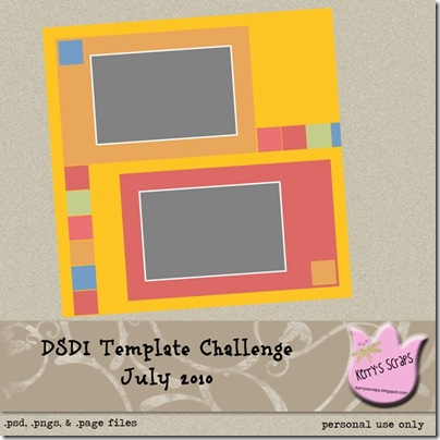July DSDI Template Challenge Preview