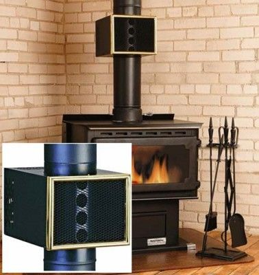 Fireplace 8 Quot Wood Stove Pipe Automatic Heat Reclaimer Ebay
