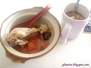 chinese delicious chicken soup with oat zoelife