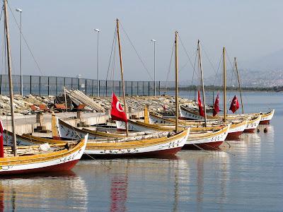 İzmir in kayıkları