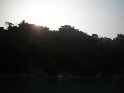 湖中的天鵝船