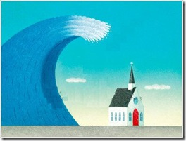 tidal-wave-hitting-church
