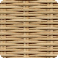 Half-Round Reed Weave