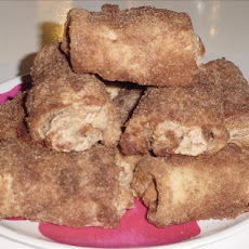 Cinnamon Cream Cheese Roll-Ups