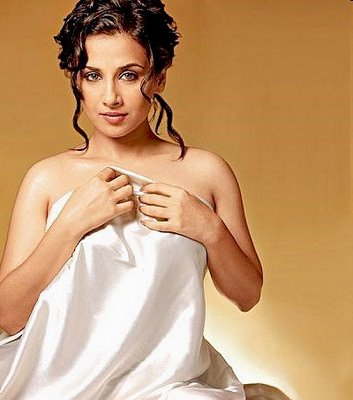 Vidya Balan Hot Exposing Photoshoot