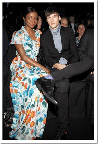 Genevieve Jones with boyfriend Zach Malone, interracial couple