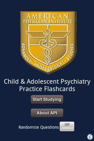 Child Psychiatry Flashcards
