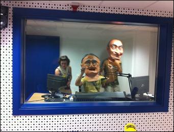 Cabezudos en la radio 009