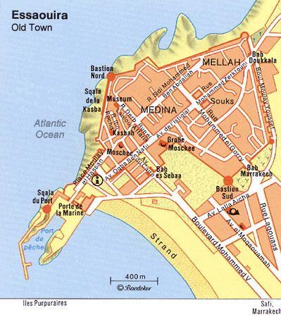 Essaouira Beach Map