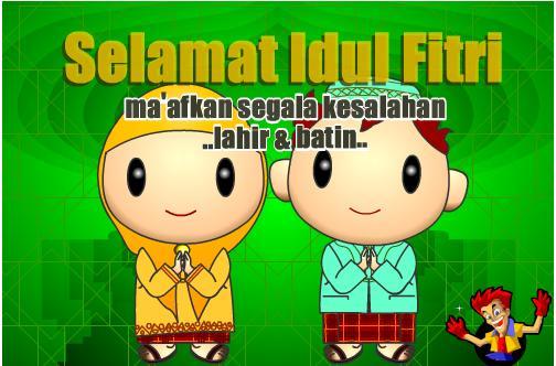 Kata Mutiara Idul Fitri dan Foto Lebaran