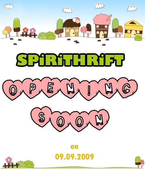 spirithrift opening soon