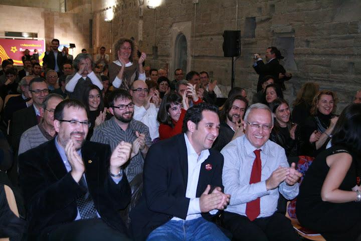 Acte central de la campanya nacional de Reagrupament. 11-11-2010.