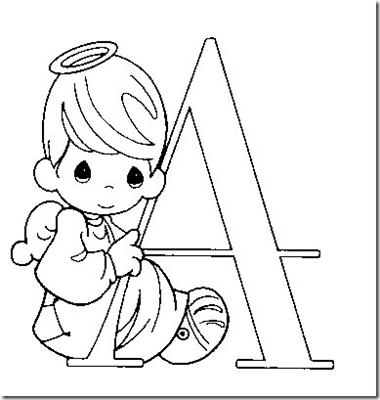 alfabeto precious moments