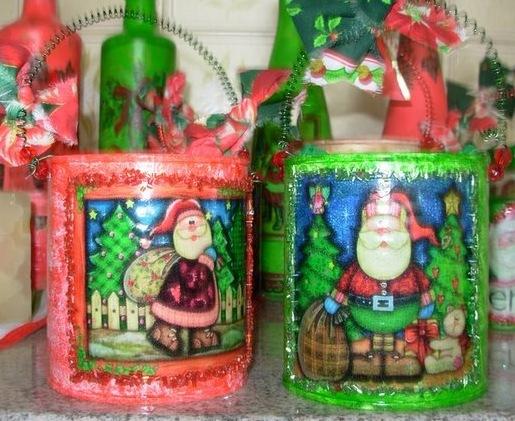 Porta lapiceros con latas recicladas y foami for Lapiceros reciclados manualidades