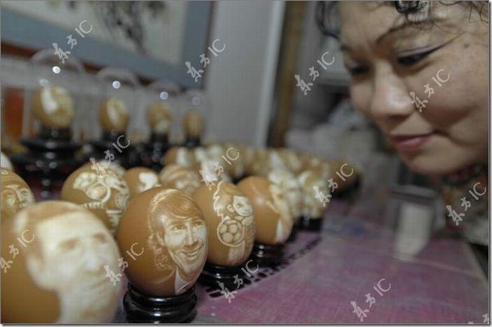 arte con huevos migallinero (4)